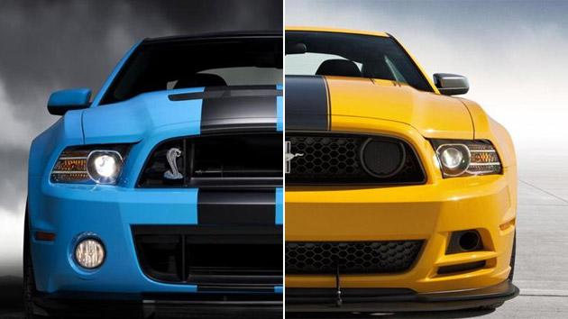 Ford Shelby Gt500 Vs Boss 302 Mustang One To Rule Them