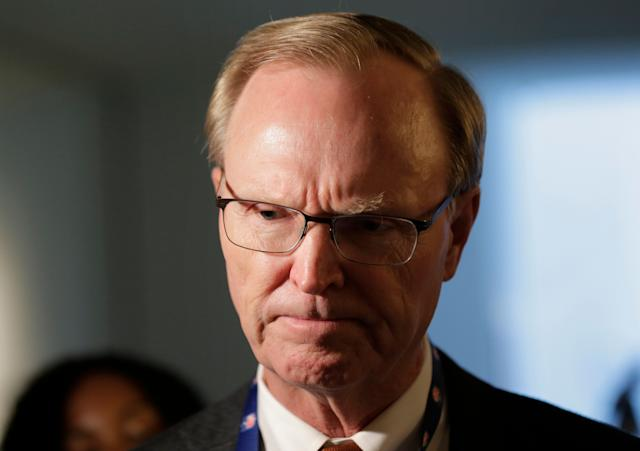 Giants co-owner John Mara does not sound like a man who was excited about dealing Odell Beckham. (AP)
