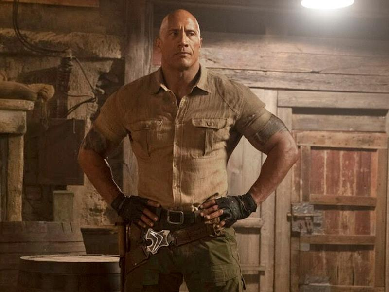 """The Rock thanks Malaysian fans for the solid reception to his new movie, """"Jumanji: The Next Level""""."""