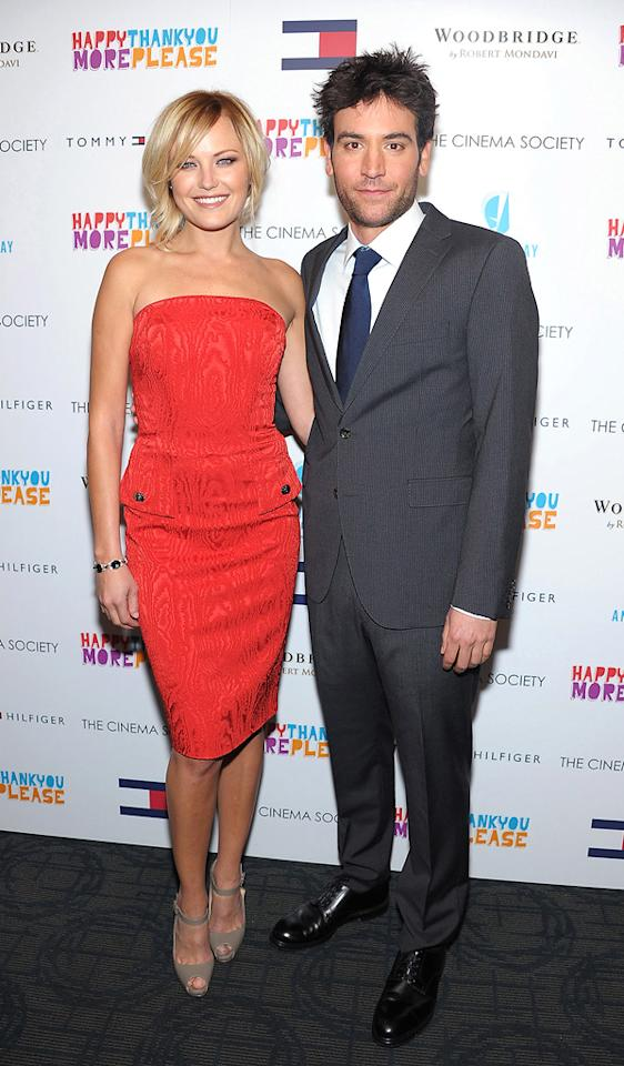 "<a href=""http://movies.yahoo.com/movie/contributor/1808422842"">Malin Akerman</a> and <a href=""http://movies.yahoo.com/movie/contributor/1809805360"">Josh Radnor</a> attend the New York Cinema Society screening of <a href=""http://movies.yahoo.com/movie/1810097669/info"">HappyThankYouMorePlease</a> on March 2, 2011."