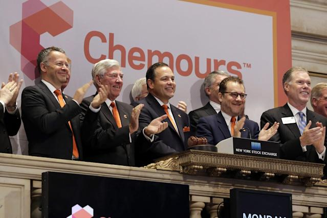 <p>Chemours<br> Industry: Chemicals<br> Fortune 500 Rank: 482<br> Revenues: $5,400,000,000<br> (Canadian Press) </p>