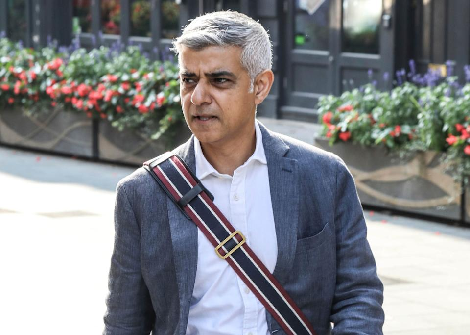 <strong>London Mayor Sadiq Khan has written to the PM to ask for financial support for the capital</strong> (Photo: KGC-158/STAR MAX/IPx)