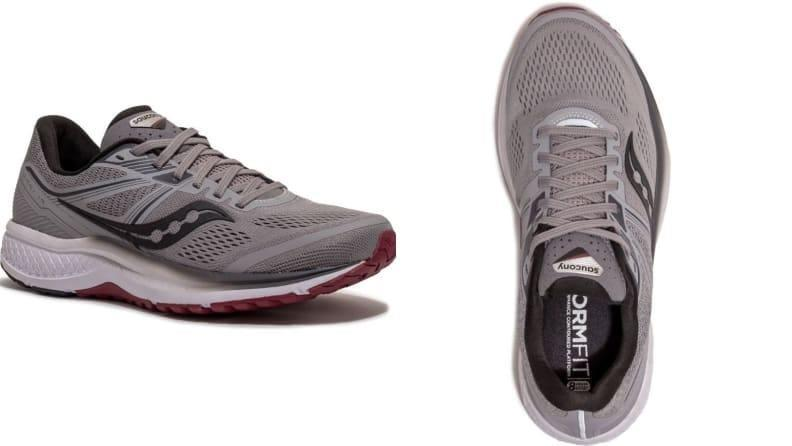 The Omni 19's heel counter provides support assistance.