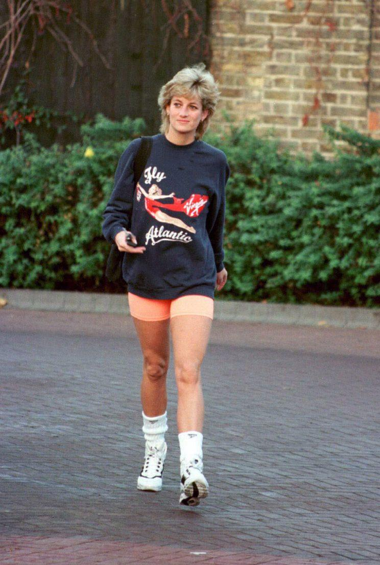 Diana brought casual preppy style to the forefront. (Photo by Anwar Hussein/WireImage)