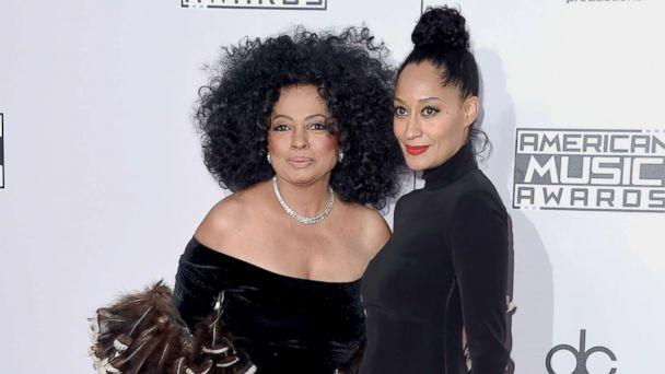 PHOTO: Diana Ross and her daughter, Tracee Ellis Ross, attend the American Music Awards on Nov. 23, 2014, in Los Angeles. (Steve Granitz/WireImage via Getty Images FILE)