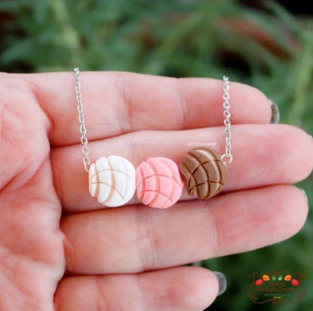 """<a href=""""https://fave.co/3c2UPtU"""" target=""""_blank"""" rel=""""nofollow noopener noreferrer"""">CBJ by Lorena</a>is a California-based Latinx-owned Etsy shop that specializes in colorful clay jewelry like conchas and florals. Shop this<a href=""""https://fave.co/2ZGre4f"""" target=""""_blank"""" rel=""""nofollow noopener noreferrer"""">Concha Charm Necklace in color for $17</a>at<a href=""""https://fave.co/3c2UPtU"""" target=""""_blank"""" rel=""""nofollow noopener noreferrer"""">CBJ by Lorena on Etsy.</a>"""