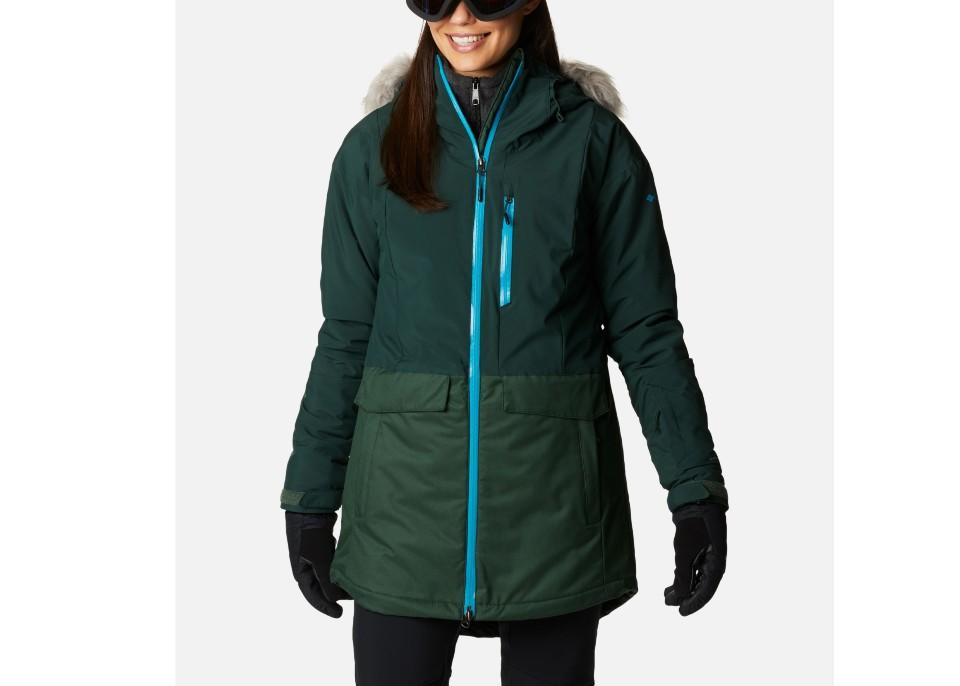 Women's Mount Bindo™ Insulated Jacket. (Image via Columbia Sportswear)