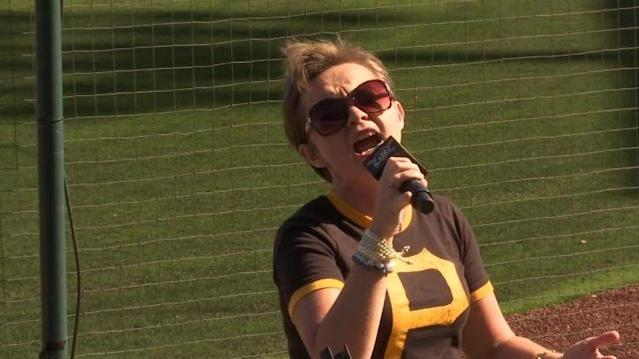 Dozens audition to sing the Star-Spangled Banner before Pirates and Marauders games