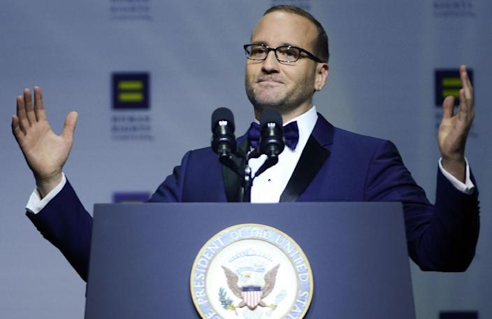 Human Rights Campaign President Chad Griffin has welcomed the intervention of the governor of Georgia in blocking a bill that would infringe on gay rights in the state (AFP Photo/Leigh Vogel)
