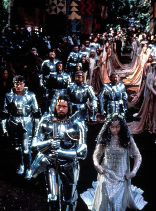 Above A Still From Excalibur 1981