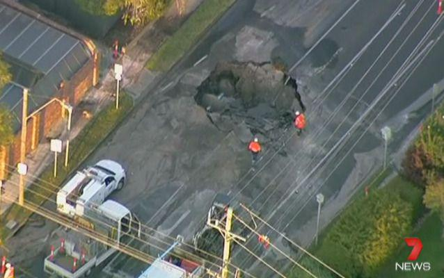 Not great for business. Photo: Seven News