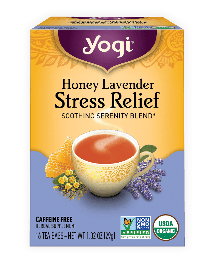 <p>When they need to unwind from a long day, they'll reach for this soothing <span>Yogi Honey Lavender Stress Relief Tea</span> ($4.49), that makes for a good stocking stuffer.</p>