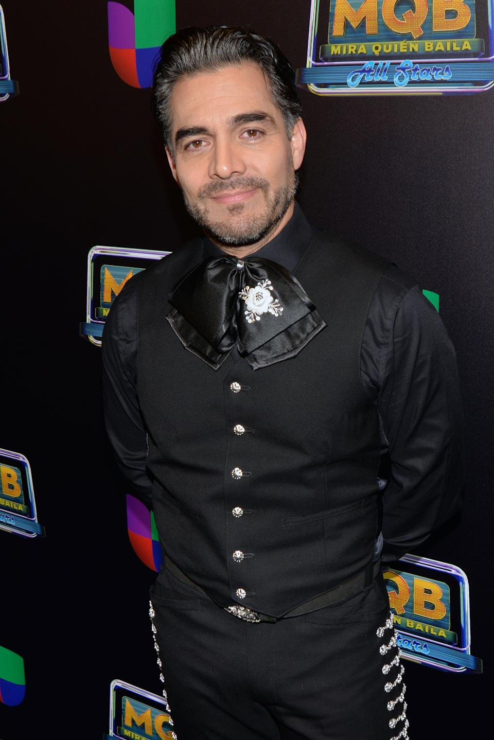 MIAMI, FL - FEBRUARY 16:  Omar Chaparro  at Mira Quien Baila All Stars 6th week at Univision Studios on February 16, 2020 in Miami, Florida. (Photo by Manny Hernandez/Getty Images)