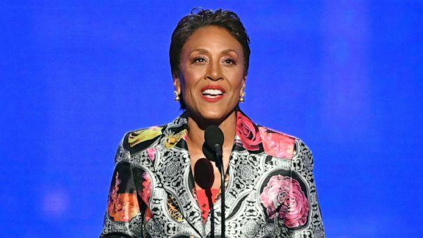 PHOTO: Robin Roberts accepts the Sager Strong Award during the 2019 NBA Awards on June 24, 2019, in Santa Monica, Calif. ( Kevin Winter/Getty Images )
