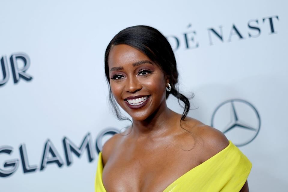 NEW YORK, NEW YORK - NOVEMBER 11: Aja Naomi King attends the 2019 Glamour Women Of The Year Awards at Alice Tully Hall on November 11, 2019 in New York City. (Photo by Dimitrios Kambouris/Getty Images for Glamour)