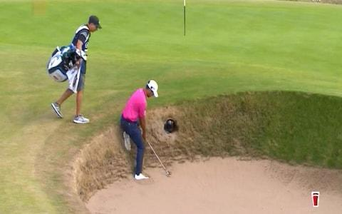 """The Open 2018 leaderboard: Latest scores from Carnoustie Tee times for final round and player schedule Tiger Woods rolls back the years at Carnoustie Justin Rose shoots 679 is clubhouse leader on -6 Francesco Molinari is as steady as a rock in lead 6:07PM Molinari gets up and down at 16 From a shonky drive. He hasn't dropped a shot since Friday at 17. That's 36 holes without a bogey. -7 Molinari (16), Schauffele (14) -6 Rose (F), McIlroy (F), Chappell (15), Kisner (15), Spieth (14) -5 Pepperell (F), Woods (16) 6:04PM Spieth's birdie attempt at 14 Also lips out. That was for a share of the lead. Rory McIlroy's second to 18 is greeted by 'Getinthehole' but he leaves it about 25ft short and he pushes his birdie effort close but not enough for a cigar ... unless it's a Hamlet, of course. Air on t G String and all that. 5:58PM Jordan Spieth is on 14 Has the eagle putt, cannot quite make that but birdie looks odds on for Jordan. Talking of eagle putts on 14, Schauffele has just left his on the LIP. Ooh my goodness. Taps in for birdie and Schauffele is now the co leader lippy Credit: Sky I am going to hand you over to Rob Bagchi for the denouement. 5:57PM Rory has monstered his drive on 18 That's some shot from the tee. 5:54PM Justin Rose """"I am not going to be pessimistic but I would be surprised if I am back on the course."""" 5:51PM Kisner with a birdie at 14, has rejoined that group at six under. But, as it stands, Francesco Molinari stands alone on -7. 5:44PM Justin Rose is the clubhouse leader He did indeed birdie the last, he's carded a 69 and that gives him a tournament total of 278, six under par, and Eddie Pepperell can go get himself a beer. Well played Justin. Not a bad effort for a guy who needed a 20 foot put on the 18th to make the cut! .@JustinRose99 at the 18th this week...#TheOpen R1: 3️⃣ R2: 3️⃣ R3: 3️⃣ R4: 3️⃣ pic.twitter.com/UtX8M2oWUJ— The Open (@TheOpen) July 22, 2018 5:41PM Scratch that. We have a sole leader for the first time in a while. Francesco Mol"""