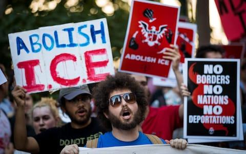 Raids that threatened family separation have faced widespread criticism - Credit: Getty