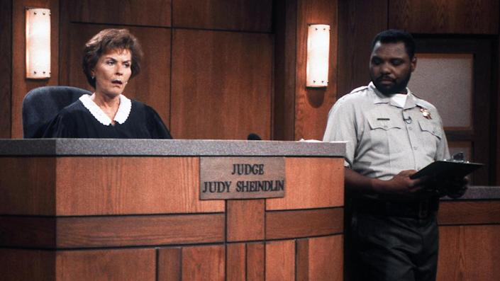 """'Judge Judy,' bailiff Petri Hawkins-Byrd was not asked to join Judith Sheindlinnew show. <span class=""""copyright"""">Donaldson Collection/Michael Ochs Archives/Getty Images</span>"""