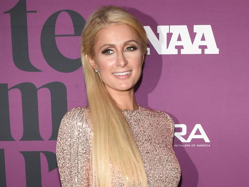Paris Hilton has a special wardrobe for her Juicy Couture tracksuits