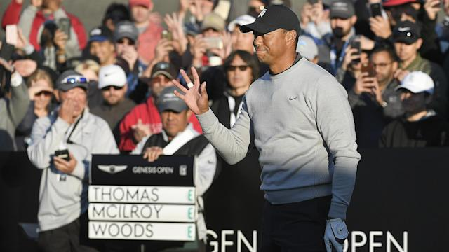 There was good and bad in Tiger Woods' 1-over 72 on Thursday in Round 1 of the Genesis Open. The best was his short game.