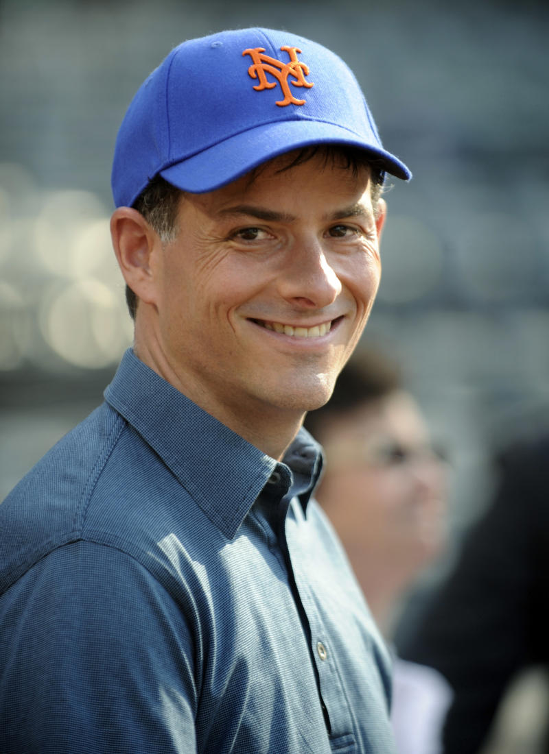 New York Mets prospective minority owner David Einhorn watches batting practice before the baseball game against the Pittsburgh Pirates Monday, May 30, 2011 at Citi Field in New York. (AP Photo/Bill Kostroun)