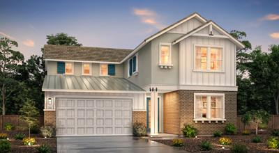 Two-story Lafayette floor plan | College Park at Mountain House | Century Communities