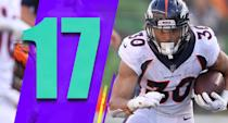 <p>Phillip Lindsay's rookie season is why teams should always think twice about drafting a running back in the first round. Not that undrafted success stories like Lindsay are easy to find, but it can happen at that position. (Phillip Lindsay) </p>