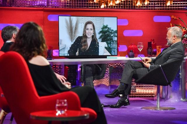 Amy Adams is interviewed by Graham Norton