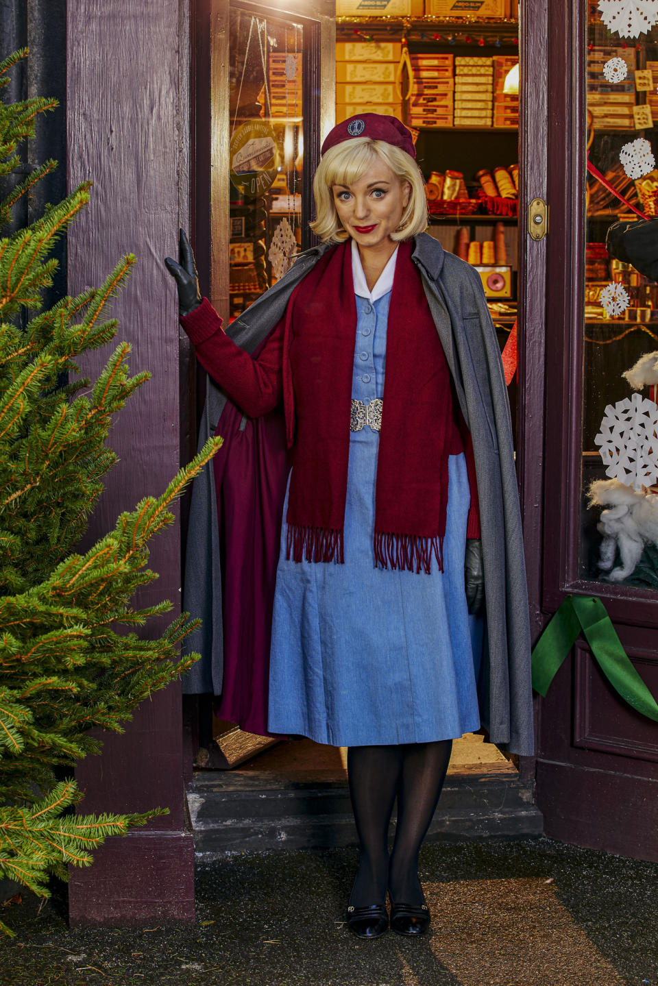 Call The Midwife - Nurse Trixie (HELEN GEORGE) - (Nealstreet Productions - Photographer: Nicky Johnston)