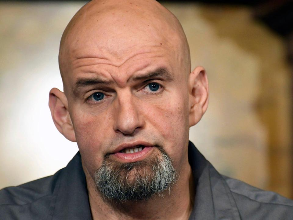 <p>Pennsylvania Lt. Gov. John Fetterman</p> (Marc Levy/AP)