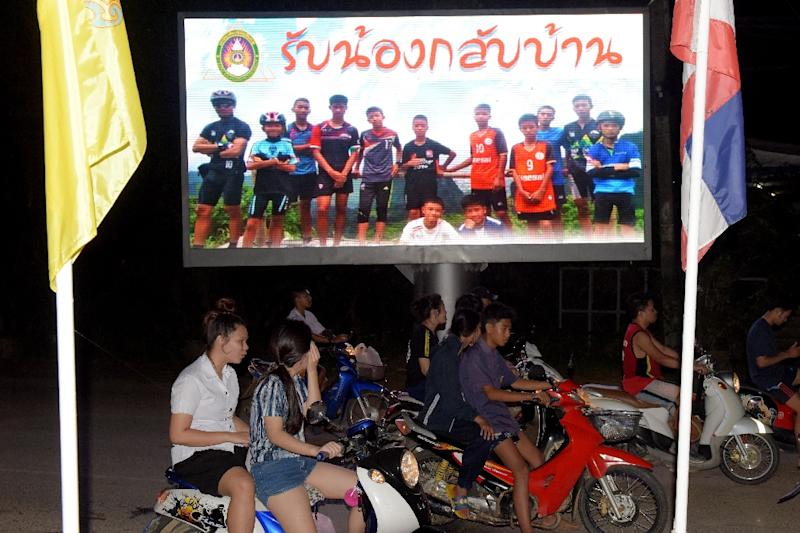 Football coach Ekkapol Chantawong and three other members of the 'Wild Boars' football team are stateless -- but activists hope the boys' ordeal will lead to a change of policy (AFP Photo/TANG CHHIN Sothy)