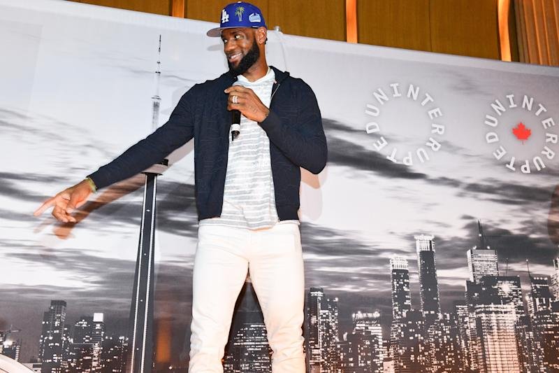 LeBron James wants student athletes to be paid, unlike the NCAA. (Photo by George Pimentel/Getty Images)