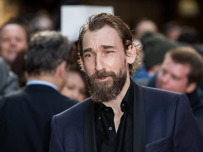 Actor Joseph Mawle poses for photographers upon arrival at the Empire Film Awards in London, Sunday, March 20, 2016. (Photo by Vianney Le Caer/Invision/AP)