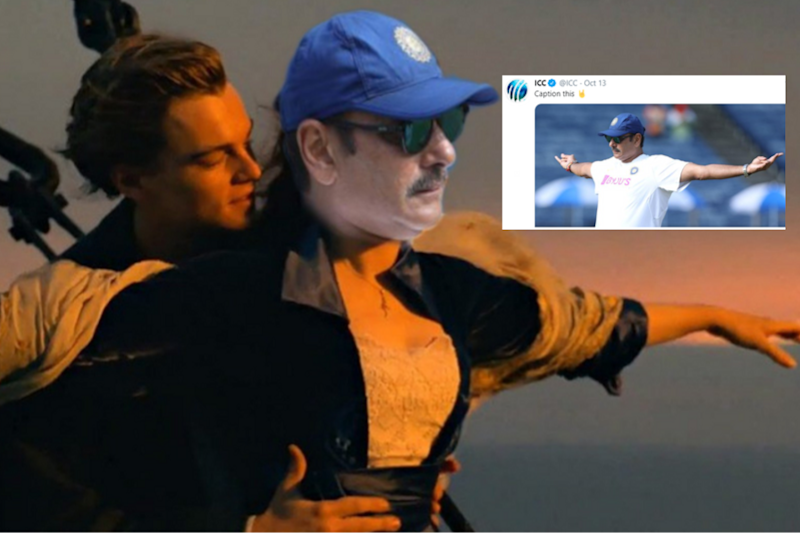 Ravi Shastri in 'Titanic'? ICC Hosted a Caption Contest and Memers Did Not Disappoint