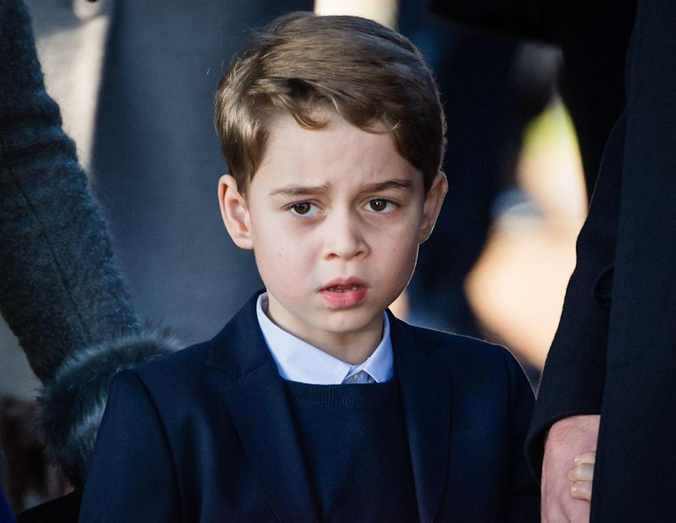"""<p><strong>What's his full name? </strong><a href=""""https://www.cosmopolitan.com/uk/reports/a37471186/prince-william-kate-middleton-cant-wait-to-leave-london/"""" rel=""""nofollow noopener"""" target=""""_blank"""" data-ylk=""""slk:Prince George"""" class=""""link rapid-noclick-resp"""">Prince George</a> Alexander Louis Cambridge.</p><p><strong>Who's he named after? </strong>As far as Royal names go, George is pretty popular, and there's already been six King Georges in the British monarchy. The last King George was the Queen's father, so Prince George's name is a sweet nod to his great-great grandfather.</p><p><strong>His parents are: </strong><a href=""""https://www.cosmopolitan.com/uk/reports/a37471186/prince-william-kate-middleton-cant-wait-to-leave-london/"""" rel=""""nofollow noopener"""" target=""""_blank"""" data-ylk=""""slk:Prince William and Kate Middleton."""" class=""""link rapid-noclick-resp"""">Prince William and Kate Middleton.</a></p>"""