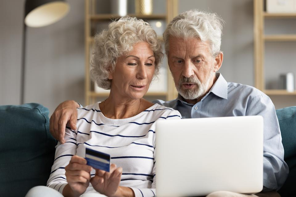 In 2020, millions of seniors lost billions of dollars to online fraud. (Photo: Getty)