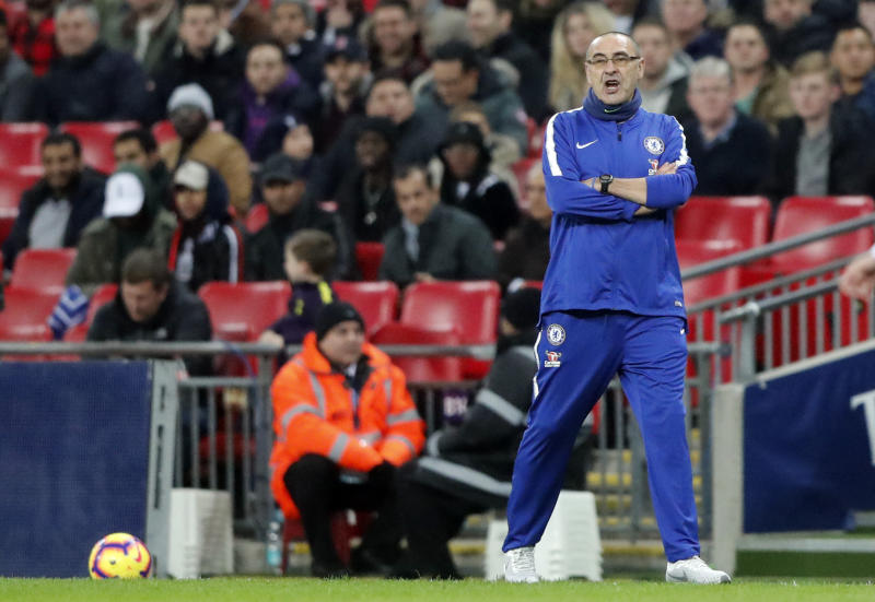 Only Manchester City and Liverpool Guaranteed Top Four - Maurizio Sarri