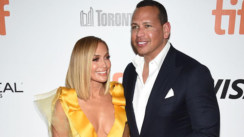 Jennifer Lopez and Alex Rodriguez have reportedly called off their wedding and ended their four-year relationship. Pic: AAP