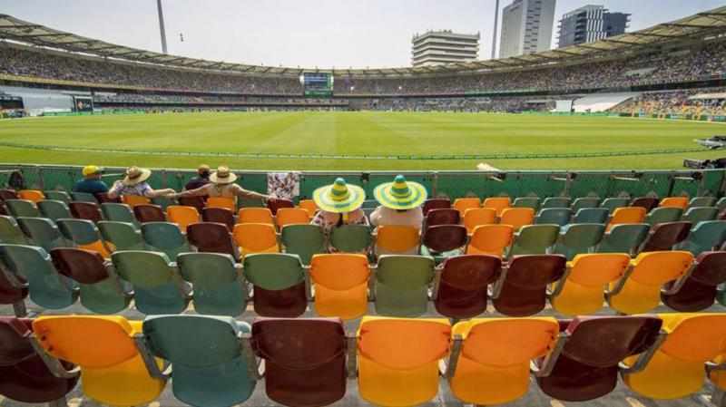 Brisbane locals did not show out in force for the first Test of the summer at the Gabba. (AAP)