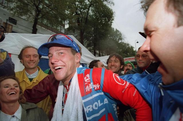 The USADA played a leading role in exposing Lance Armstrong as a doping cheat (AFP Photo/ANJA NIEDRINGHAUS)