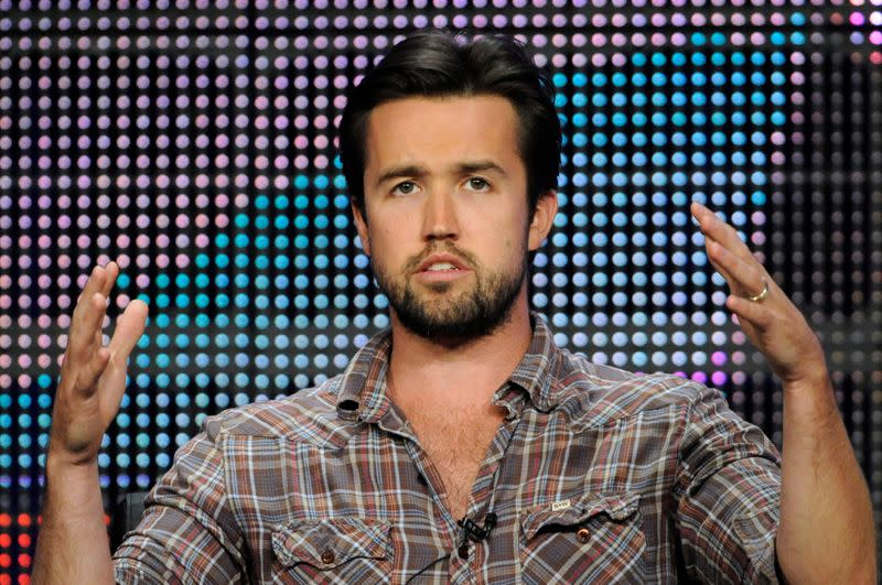 """FILE PHOTO: Rob McElhenney participates in the panel for """"It's Always Sunny in Philadelphia"""" in Beverly Hills, California"""