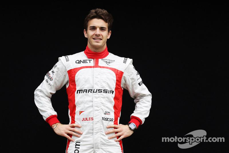 """Jules Bianchi, Marussia F1 Team<span class=""""copyright"""">XPB Images</span>"""