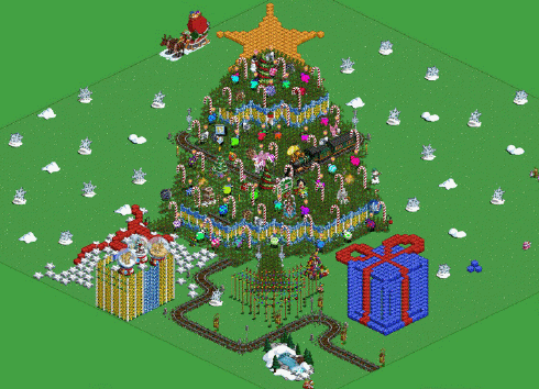 Farmville Christmas tree