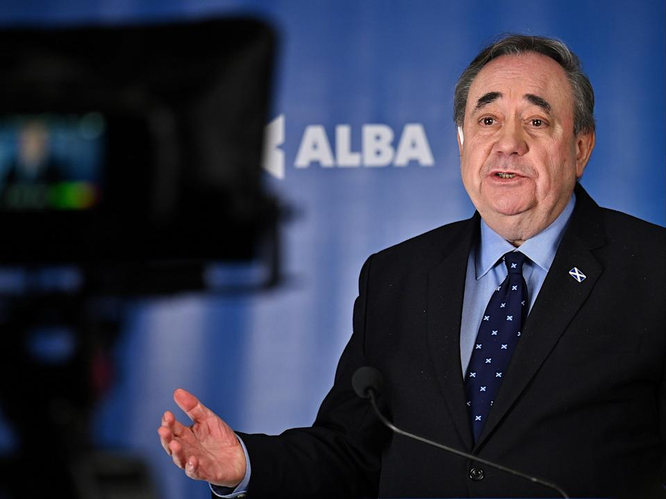 The Alba Party leader has consistently held there is no editorial interference in the making of his RT programme (Getty)