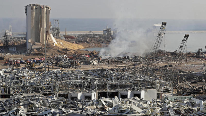 Beirut residents awake to scenes of devastation after deadly port explosion