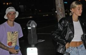 Newlyweds Hailey and Justin Bieber step out for date night