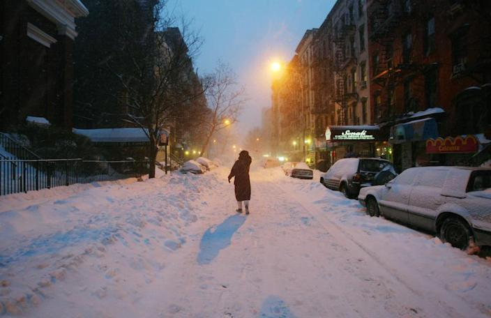 There's actually a scientific reason why the world gets quieter after it snows