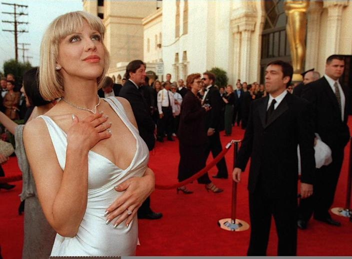 US actress and rock singer Courtney Love, an influential member of the punk scene, was married to Kurt Cobain in the early 1990s prior to his death (AFP Photo/HECTOR MATA)