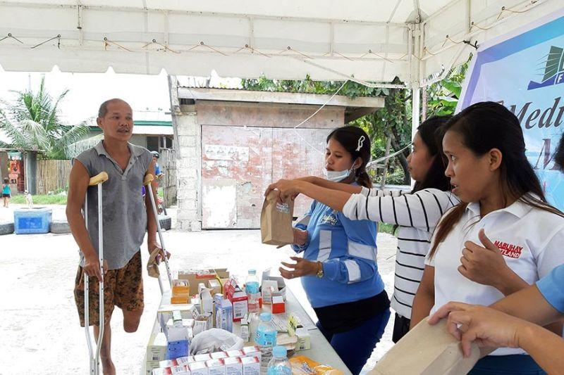 Mabuhay Filcement holds medical mission