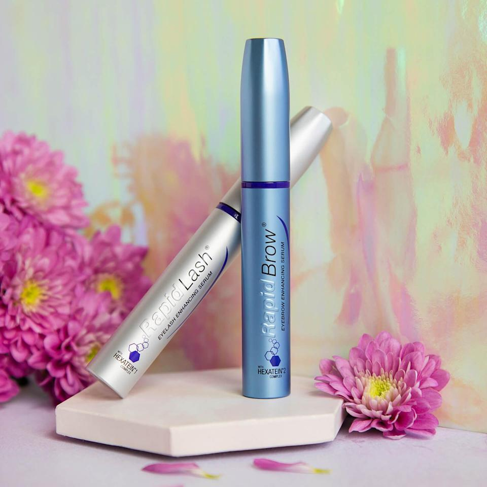 "<br><br><strong>Rapidlash</strong> Eyelash & Eyebrow Enhancing Serum Duo, $, available at <a href=""https://go.skimresources.com/?id=30283X879131&url=https%3A%2F%2Fus.lookfantastic.com%2Frapidlash-rapidbrow-eyelash-eyebrow-enhancing-serum-duo%2F10647061.html"" rel=""nofollow noopener"" target=""_blank"" data-ylk=""slk:LookFantastic"" class=""link rapid-noclick-resp"">LookFantastic</a>"